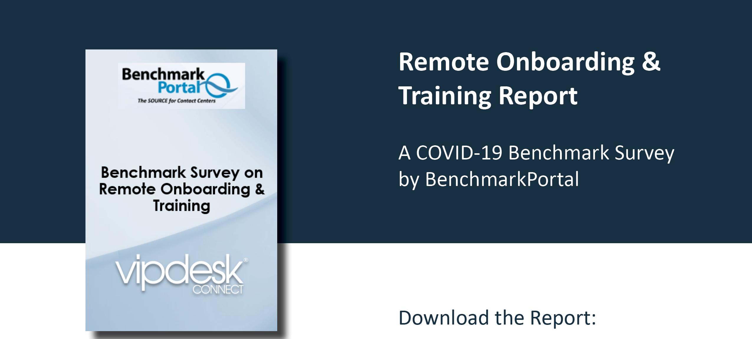 Remote Onboarding & Training Report LP Hero